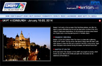 UKIPT - UK and Ireland Poker Tour, Edinburgh UK